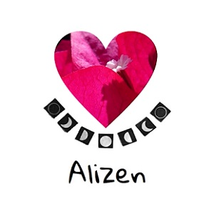 logo alizen corazon